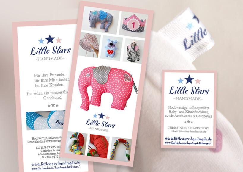 Grafikdesign Little Stars Nicole Erfen